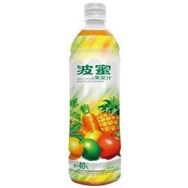 波蜜果菜汁580ml-1箱【合迷雅好物商城】