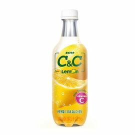 黑松汽水 C&C 檸檬氣泡飲料500ml-1瓶 【合迷雅好物商城】