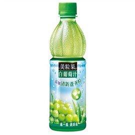 ●美粒果白葡萄汁蘆薈粒450ml(4入/組) 【合迷雅好物商城】