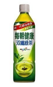 每朝健康雙纖綠茶 650ml~4瓶 ~合迷雅好物商城~
