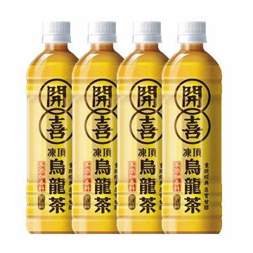 開喜凍頂烏龍茶-清甜 575ml-1組(4瓶)【合迷雅好物商城】