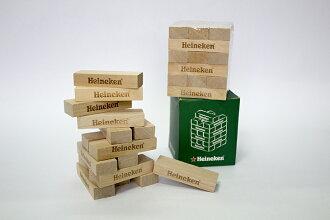 海尼根原木方塊疊疊樂(1入)【合迷雅好物商城】