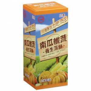 台糖南瓜纖蔬養生薄餅120g/盒【合迷雅好物商城】
