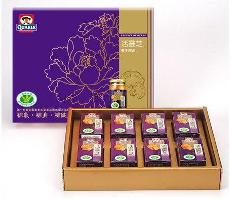 (衛署健食字第A000091號)桂格活靈芝滋補液60mlX8入養生禮盒 【合迷雅好物商城】