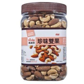 ◎萬歲牌珍味雙果(350g/罐) 【合迷雅好物商城】