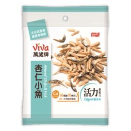 ●萬歲牌杏仁小魚-原味(80g/包)【合迷雅好物商城】