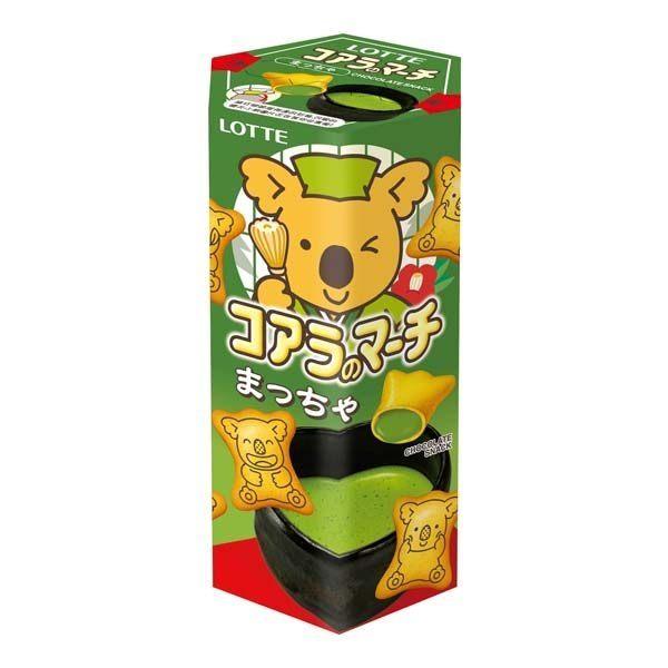 ●LOTTE 樂天 小熊餅-抹茶口味37g【合迷雅好物商城】