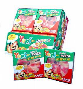 ●呦皮披薩QQ糖(15gx24個)--1盒【合迷雅好物商城】