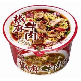 味王椒麻牛肉湯麵碗--3碗組【合迷雅好物商城】