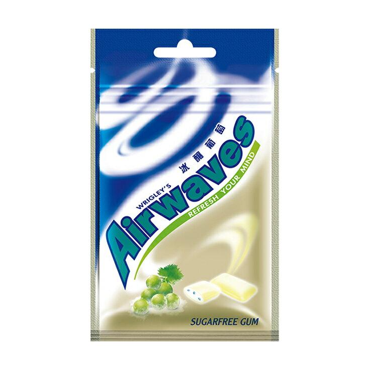 Airwaves口香糖袋裝28g-冰釀葡萄--單包【合迷雅好物商城】