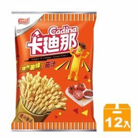 卡迪那德州薯條茄汁54g(12包)【合迷雅好物商城】