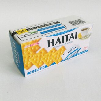 HAITAI海太營養餅乾100g-單盒【合迷雅好物商城】