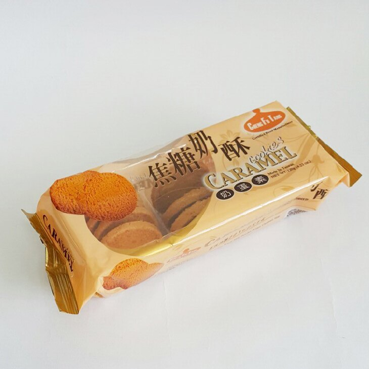 正福堂焦糖奶酥120g-單包【合迷雅好物商城】