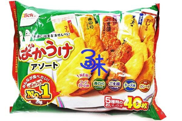 (日本) Befco 栗山 5種類 月亮米果 1包 214 公克 特價 140 元 【4901336723464 】