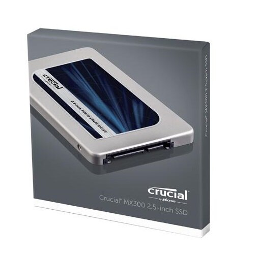 "Crucial SSD MX300 2.5"" 2TB 2.0TB SATA III 6Gb/s 3D NAND 7mm Internal Solid State Drive 530MB/s Maximum Read Transfer Rate 510MB/s Maximum Write Transfer Rate CT2050MX300SSD1 2"