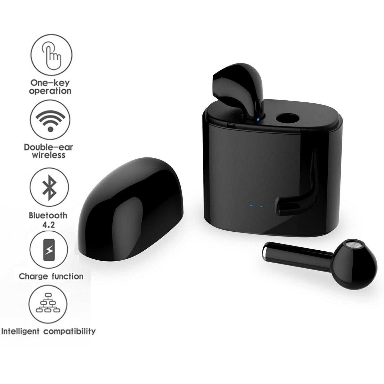 444fdb1b52c Stylish Wireless Bluetooth EarPods - Best Wireless Sport Earphones w/ Mic -  5 Hour Battery