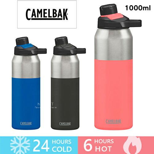 美國CamelBakCHUTE®MAG1000ml戶外運動保冰溫水瓶不含BPA台灣總代理