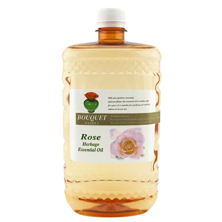 1000ml芳香瓷花精油補充液 高濃度精油補充液 無火香薰補充油 室內香氛 自然擴香 陶瓷玫瑰