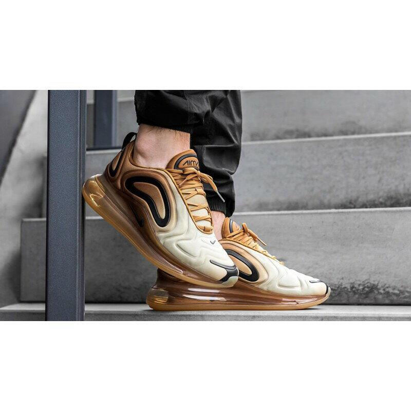 【日本海外代購】Nike Air Max 720 天眼 金黃 漸層 休閒 慢跑鞋 氣墊 吸震 情侶 慢跑 AO2924-700