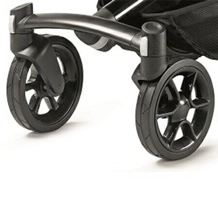 ★衛立兒生活館★Quinny Moodd 嬰兒手推車-用前輪(黑色)