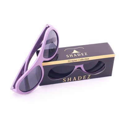 瑞士【SHADEZ】兒童太陽眼鏡設計款-紫色蝴蝶(3-7歲) - 限時優惠好康折扣