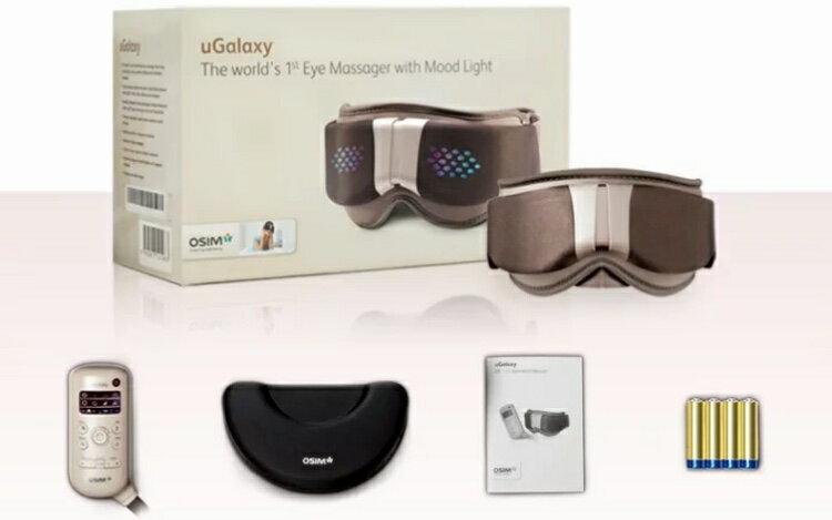 現貨 全新限量優惠只有一組 OSIM uGalaxy 亮眼舒 OS-112 眼部按摩器 溫熱眼部 按摩器 振動按摩 溫熱功能 光波功能 全新福利品