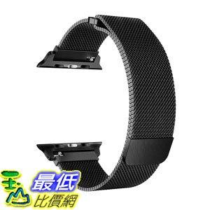 [7美國直購] 錶帶 OROBAY Compatible with Apple Watch Band 42mm 44mm, Stainless Steel Milanese Loop B0798GNZ