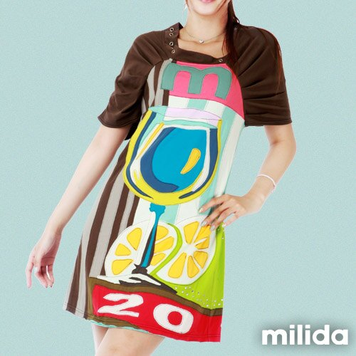 【Milida,全店七折免運】公主袖派對洋裝 1