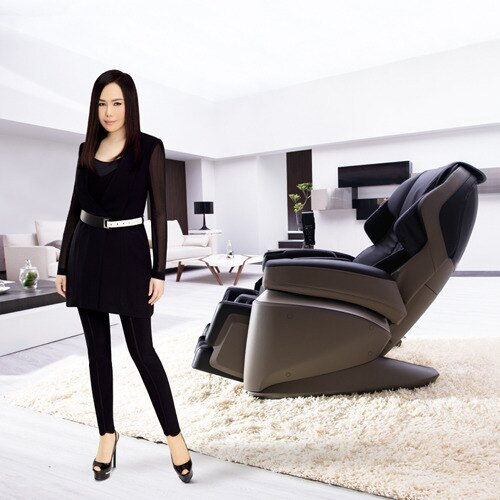 二姐江蕙 FUJIIRYOKI 深感動按摩椅︱富士醫療器JP-1000《日本原裝》母親節加送FM210秀腿機