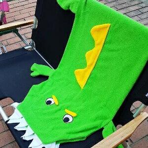 美麗大街【S106112208】卡哇伊~短尾鱷睡袋Short-tailedcrocodile保暖毯