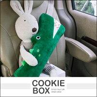 絨毛娃娃推薦到韓國 PRIELLE 兒童 汽車 娃娃 安全 帶套 寶寶 車用 護肩 抱枕 安全可愛 造型 小熊 恐龍 *餅乾盒子*就在餅乾盒子推薦絨毛娃娃