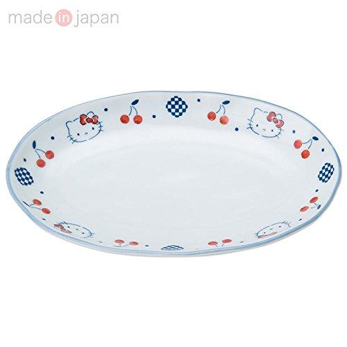 X射線【C248065】Hello Kitty 有田燒陶瓷盤,餐具組/環保/開學/便當盒/碗/湯碗/碟子