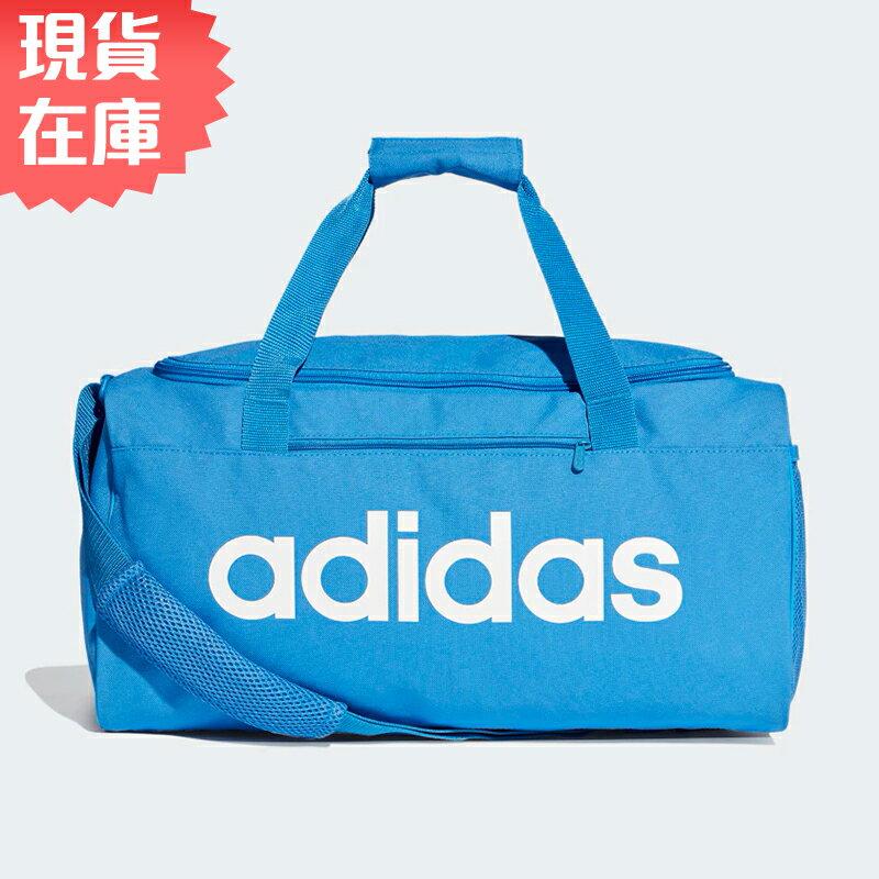 ★ 在庫★ ADIDAS LINEAR CORE DUFFEL (S) 旅行袋 手提袋 健身 藍 【 世界】 DT8623