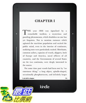 [美國代購] Kindle Voyage E-reader WiFi , 6 High-Resolution Display (300 ppi) with Adaptive Built-in Lig..