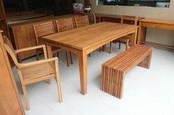 【石川家居】WF-98 柚木6尺餐桌 會議桌 另有5尺 4.35尺 台中以北搭配車趟免運