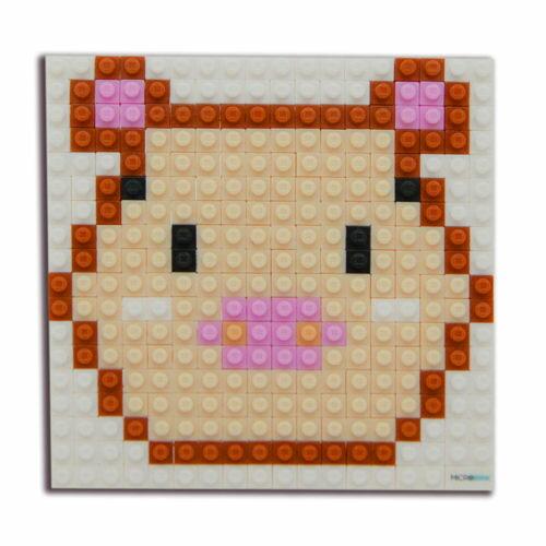 微高積木-生肖-豬/ Microbrik / 2D/ 微型積木/ 裝飾/ 創作 / 美勞/ 療育/ 紀念品/ 伯寶行