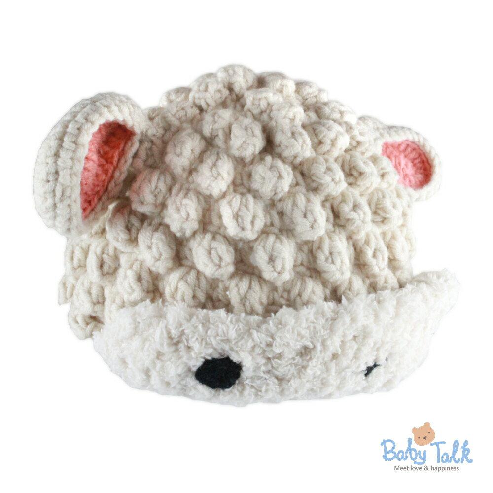Baby Talk 造型手工編織帽-小綿羊 (XS/S)