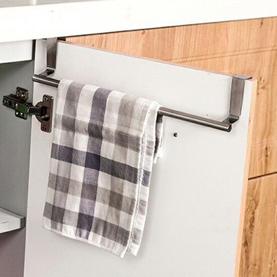 Mycolor:♚MYCOLOR♚多功能不鏽鋼架(長)廚房櫥櫃臥室收納懸掛通風瀝乾支架抹布【L197-2】