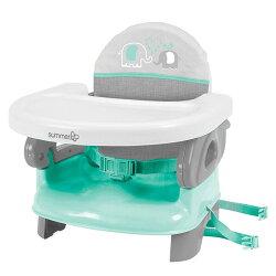 美國 Summer 可攜式活動餐椅Deluxe Comfort Folding Booster Seat 粉綠㊣台灣總代理公司貨