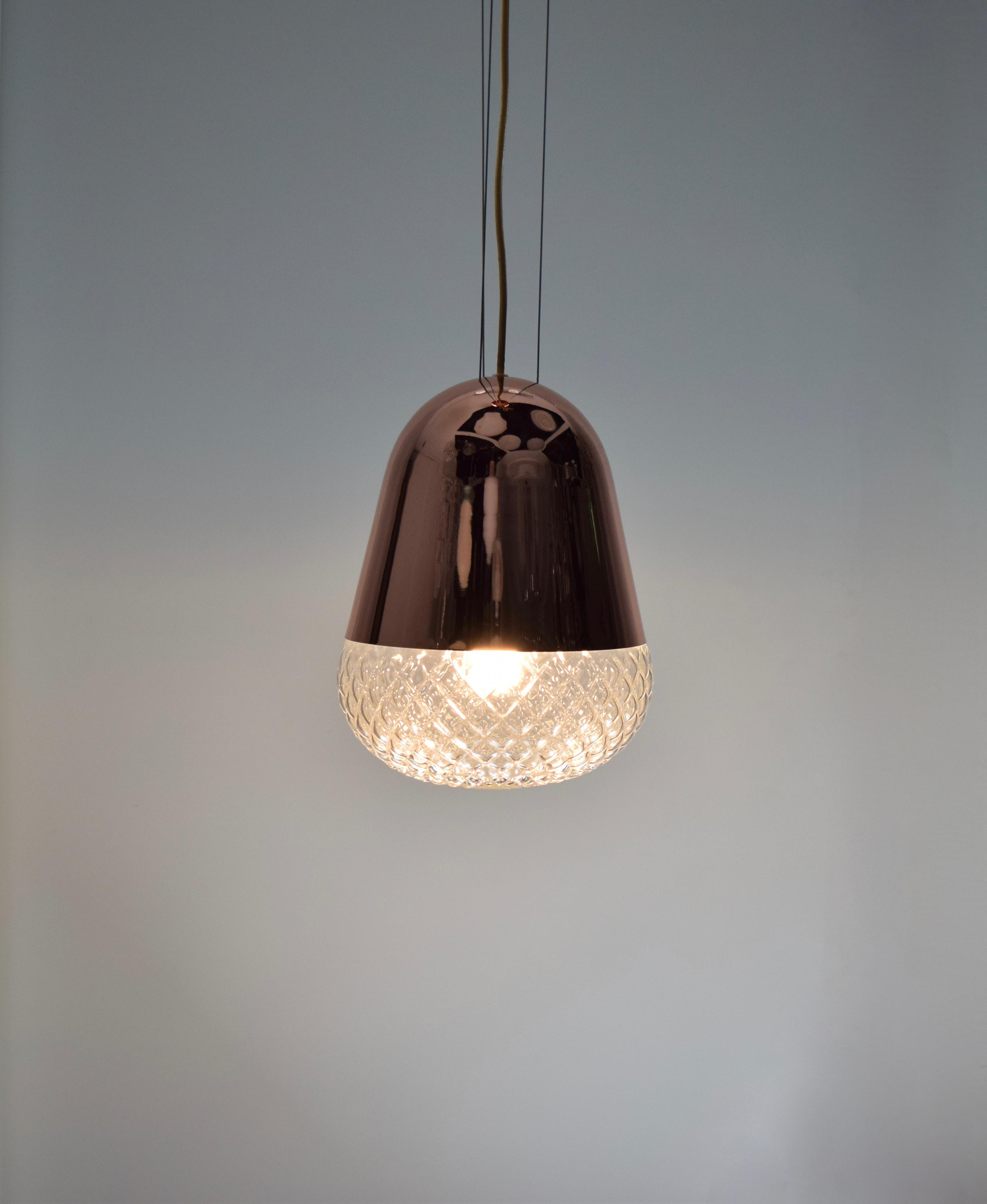 紅銅玻璃吊燈-BNL00118 5