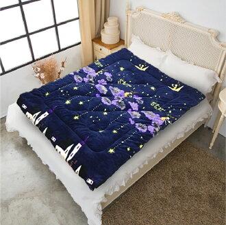 【名流寢飾家居館】藍夢星空.法萊絨.法蘭絨.暖暖被.150x200公分