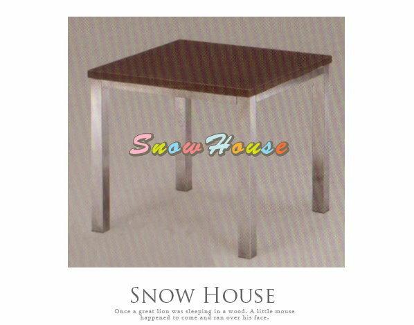 ╭☆雪之屋居家生活館☆╯A383-06 電鍍腳通用小茶几/餐桌/茶桌/咖啡桌/置物桌**鐵刀木色