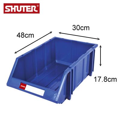 樹德 HB-3045 經典耐衝擊分類置物盒 / 可堆疊零件整理箱 ( 箱購12入 )