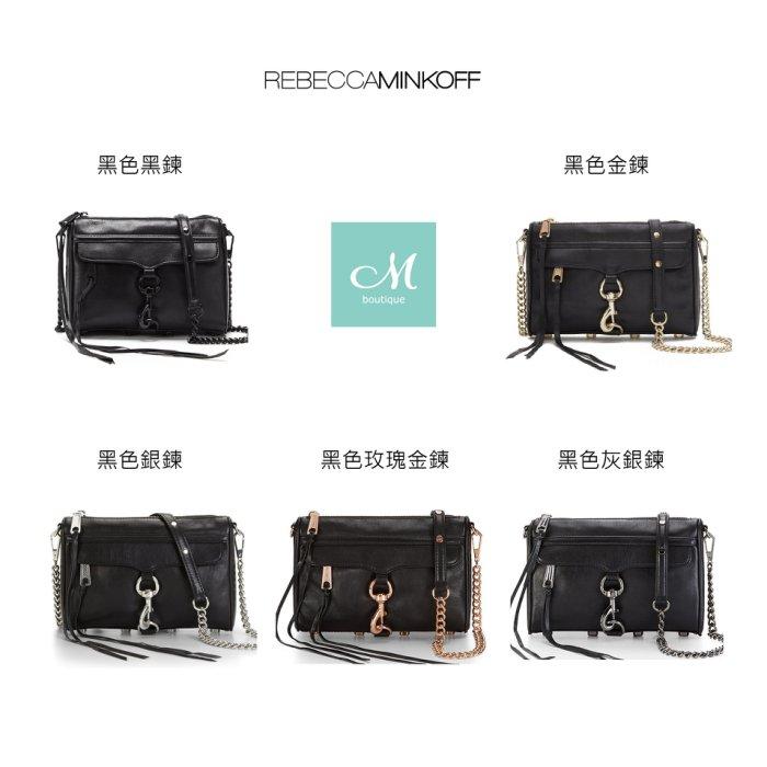 『預購』☆ Muze精品 ☆Rebecca Minkoff mini mac黑色 斜揹包