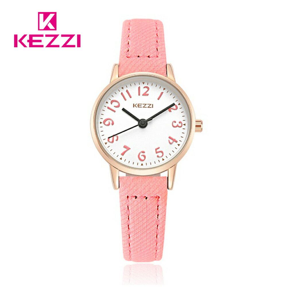 KEZZI 珂紫 K-1564 IP 時尚學院風多色搭配款手錶 2