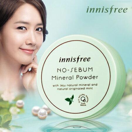 韓國 innisfree 礦物質控油蜜粉 5g 無油光天然薄荷【N200815】