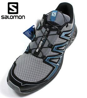 SALOMON(男)WINGSFLYTE2野跑鞋透氣穩定緩衝-L39967000萊姆綠藍[陽光樂活]