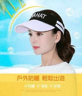 騎跑泳者-中空運動帽(五種配色可選),健行、登山、騎車、跑步,時尚美觀吸濕排汗