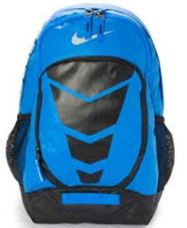 Nike NIKE-MAX AIR 背包 後背包 雙肩 氣墊 藍 黑 【運動世界】BA4883-408