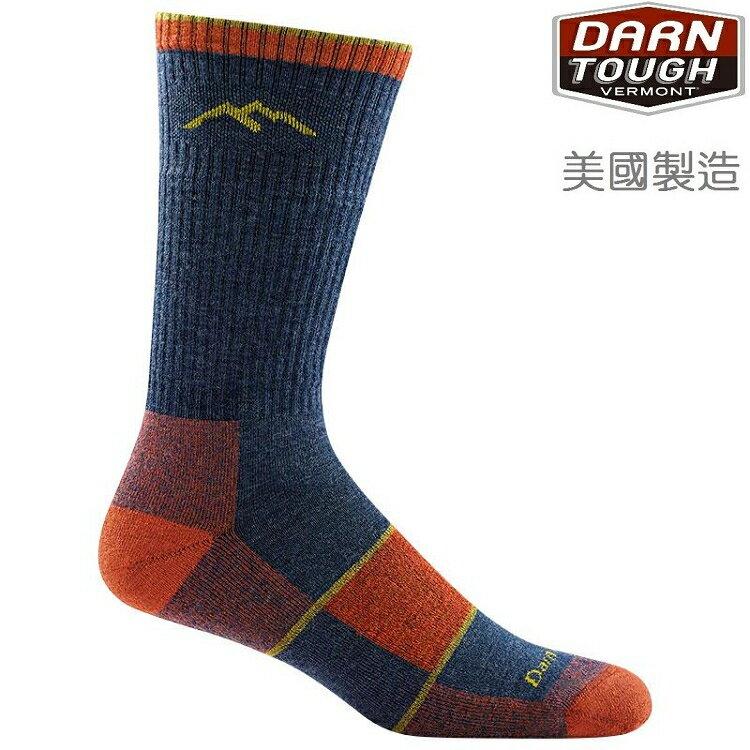 Darn Tough HIKER BOOT 男款 羊毛襪/保暖襪/登山健行襪 1405 丹寧藍 DENIM